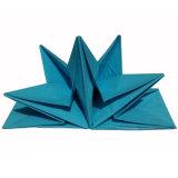 전 접힌 냅킨 파이브 스타 호텔 냅킨 Handmade 폴딩 종이 냅킨