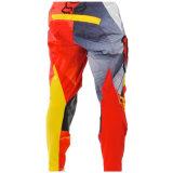 Abitudine arancione che corre i pantaloni fuori strada di motocross dell'attrezzo del MX di usura (MAP19)