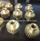 De cobre amarillo modificada para requisitos particulares a presión el engranaje de estímulo de la fundición