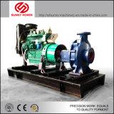 6inch de diesel Pomp van het Water voor Irrigatie/Gemeentelijk Project met Vierwielige Aanhangwagen