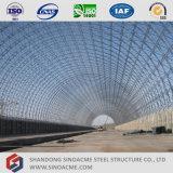 Sinoacmeは鋼鉄スペースフレームの構造のトレインの駐車小屋を組立て式に作った