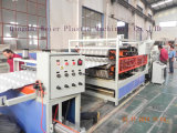 Hot Salt PVC Glazed Roofing Sheet Extrusion Line Making Machine