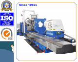 Torno horizontal Multi-Functional do CNC para girar o grande rolo do ferro, cilindros (CG61160)