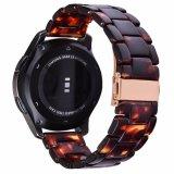 Senhoras Soft Pink bracelete de resina assistir a banda para engrenagem Samsung S3