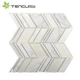 Nuevo fabricante decorativo del azulejo de mosaico del vidrio cristalino del diseño 3D