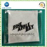 Saco plástico transparente impresso logotipo da embalagem do PVC de 2017 costumes para o Swimwear (jp-plastic041)