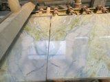 Jade Azulejos polido em mármore branco&Brames&Bancada