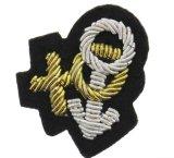 Zona ricamata Handmade per l'uniforme con collegare di filatura