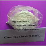 Citrate stéroïde cru 50-41-9 de Clomifene de clomifène de Clomid de poudre d'Anti-Oestrogène