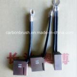 Produzir metais cobre escova de carvão utilizado nas máquinas Niehoff