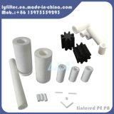 Personnalisé de l'eau de la cartouche de filtre plissé en plastique de type PP fritté carbone filtre 10 microns PE pour l'industrie chimique