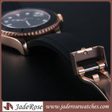 熱い販売の水晶腕時計男性用手首のステンレス鋼の腕時計