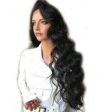 Волосы синтетики способа парика Afro объемной волны Dlme естественные
