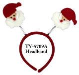 Weihnachtsstirnbänder mit hellem Spielzeug