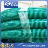 Boyau industriel spiralé flexible d'aspirateur de tuyau d'aspiration de PVC de débit de l'eau d'helice