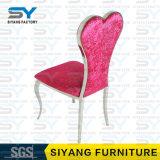 Möbel-Weinlese-Aluminiumstuhl-Geist-Stuhl-Samt, der Stuhl speist