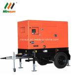In het groot Stille Diesel Generator op Opgezet