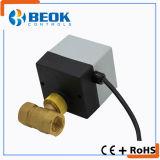 Válvula de bola motorizada para el sistema de calefacción de agua