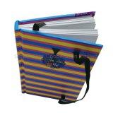安いペーパーノート、カスタムロゴの学校学生A5 A6のサイズの練習のノート