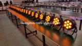Vello LED Wand-Wäsche-kann Innenstadium NENNWERT beleuchten (LED-Elf Colorpar 7 (5in1)