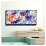 Segeltuch druckt Abbildung-Wand-Kunst-Dekor gestaltete Segeltuch-Farbanstrich-Abbildungen für Haus, Büro, Hotel, Gaststätte