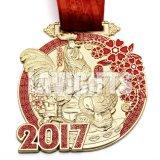 Medaille van de Toekenning van de Voltooiing van het Email van het Metaal van de douane de Gouden Zachte Academische