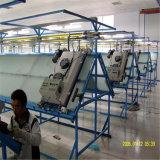 スクリーンの印刷のための傾斜路表の気流乾燥器