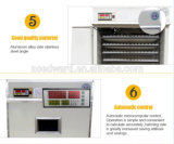 Tenuta dell'incubatrice automatica dell'uovo delle 528 uova per la strumentazione del pollame