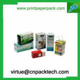 Bestellte Vitamin-verpackenden Papierkasten mit Costom Größe voraus