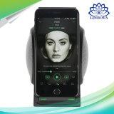 Wn1 голодают беспроволочный заряжатель с заряжателем Qi беспроволочного диктора Bluetooth портативным беспроволочным для галактики S7/S8 iPhone 8/X Samsung