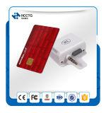 Programa de lectura móvil de la tarjeta magnética con el interfaz audio de Gato (ACR31)