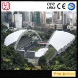 Tienda de acero de la membrana del marco del espacio del estadio de pasillo de deportes/tienda de acero del edificio del braguero