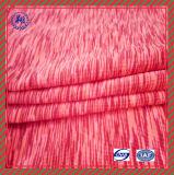 Tela Yarn-Dyed do Spandex do poliéster feito sob encomenda de China para o desgaste da ioga