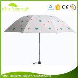 Зонтик изготовленный на заказ зонтика выдвиженческий самый дешевый белый с печатание