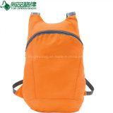 Fördernder Polyeste Bagpack faltender Rucksack-faltbarer Rucksack