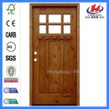 Puerta de madera tallada tirón del ambiente (JHK-G32-4)