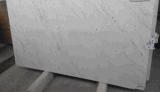 純粋で白い大理石の平板のタイル