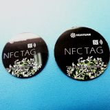 13.56MHz NTAG ferrita215 adesivo autocolante Encolder Tag NFC