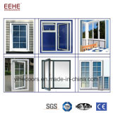 Prix en aluminium fixes de Windows de guichet en verre de Philippines