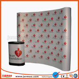 Durable Curved 20FT Magnetic Pop UP banner status