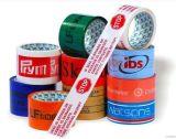 La insignia de BOPP imprimió la cinta impresa insignia de encargo adhesiva fuerte del lacre del cartón de la cinta del embalaje de la cinta adhesiva BOPP