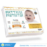静かに防水携帯用合われた赤ん坊のまぐさ桶のパッドの防水マットレスの保護装置