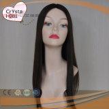 Parrucca superiore di seta di Sheitel dei capelli umani (PPG-l-01171)