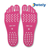 Protección flexible de los pies de la playa del pie de la pista de las plantillas adhesivas suaves populares de la etiqueta engomada