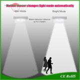 220 Lumen l'énergie solaire rue Lampe de feux d'éclairage LED à montage mural