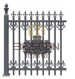電流を通された錬鉄の庭Fanceおよび手すりのための金属の塀