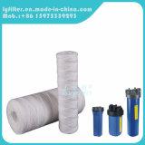 Azul delgado y grande filtro de agua de la cadena del hilado de 5 PP del micrón para el cárter del filtro (20 pulgadas)