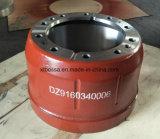 Dongfengのためのトラックの予備品のブレーキドラムDz9160340006