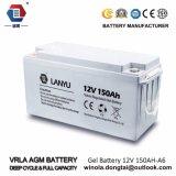 De Levering van de Macht van de veiligheid 12V 150ah leidt Zure Batterij