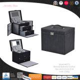 Modèle de portable économique Boîte en bois Zone de stockage de bijoux de l'emballage (8772)